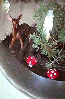 Candy jar deer