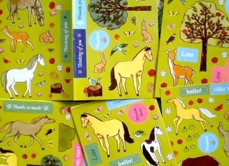 Horsey stickers