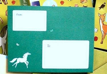 Horsey envelope