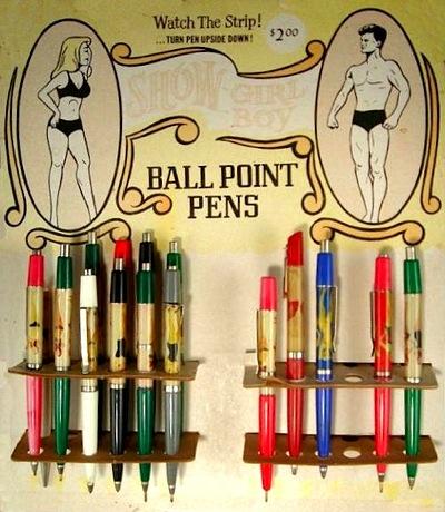 Stripper pen