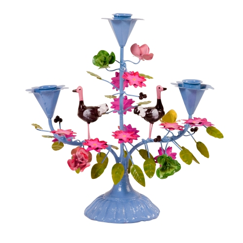Www.sistersguild.co.uk:new_painted_candelabra-_candle_holder_-_dusty_blue_by-p-1264.html