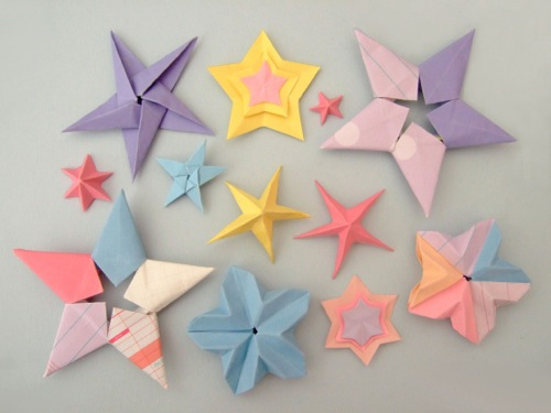 Paperfolding-star-all
