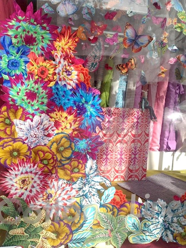 Flower fabric.a