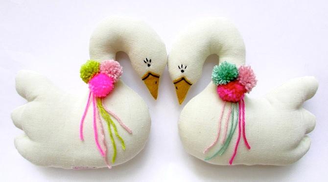 swan plush