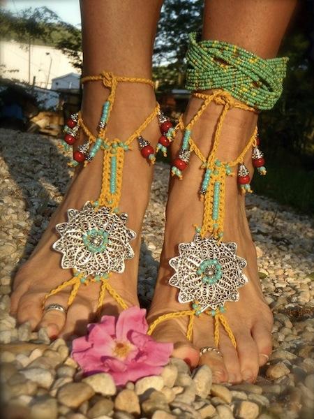 Sandal jewelry